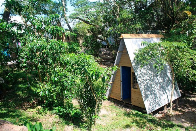 Pousadas na Guarda do Embaú: glamping