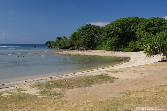 Praia em Nusa Dua