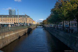 Canal em Gotemburgo
