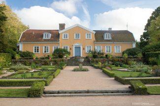 Casa dentro do Botanical Garden
