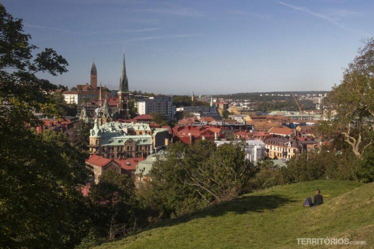 Gotemburgo vista do alto