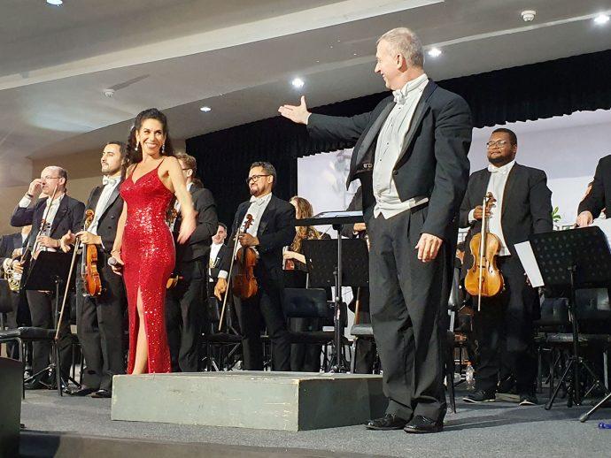 Show de abertura do Gramado in Concert